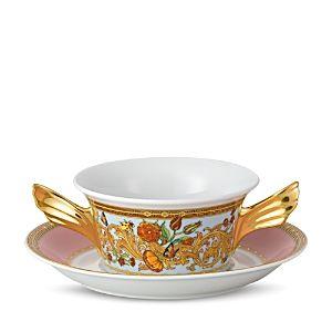 Rosenthal Meets Versace Butterfly Garden Cream Soup Cup