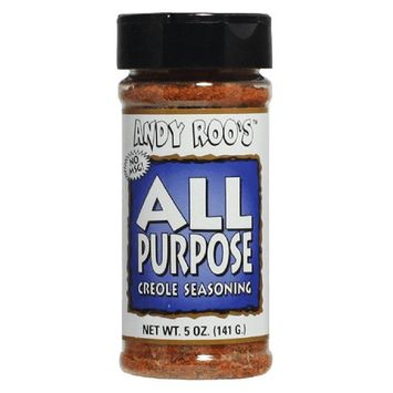 Andy Roo's All Purpose Creole Seasoning, 5 Ounce Shaker