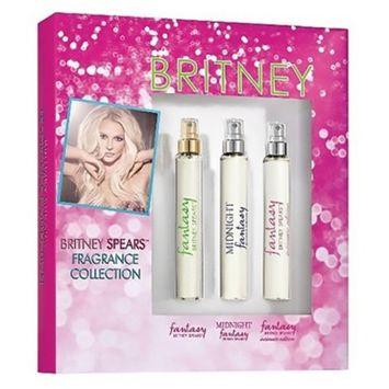 Spears Sampler by Britney Spears Gift Set Women's Perfume - 3pc