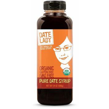 Pure Organic Date Syrup - 1.5 lb | Vegan, Paleo, Gluten-free & Kosher Sweetener [Squeeze Bottle]