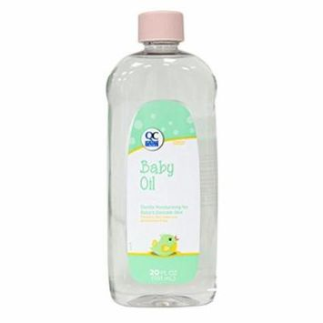 4 Pack Quality Choice Baby Oil 20oz Each