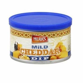 Herr's Mild Cheddar Dip 9 oz Jars - Pack of 6