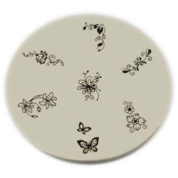 Konad Stamping Nail Art Image Plate - M36