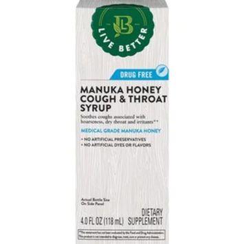 Live Better Manuka Honey Cough & Throat Syrup