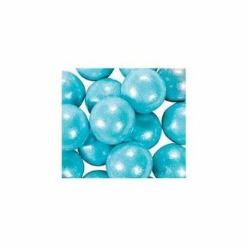 Large Shimmer Light Blue Gumballs