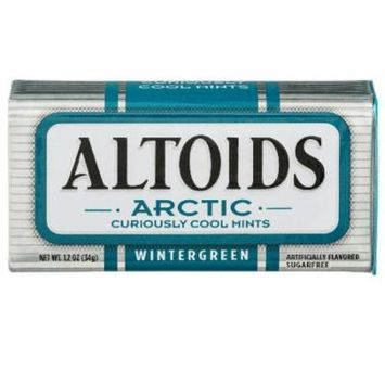 Altoids, Arctic Curiously Cool Mints, Wintergreen - 1.2 oz (Pack of 36)