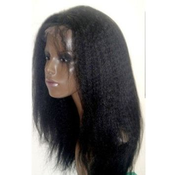 Tanya Variety of Kinky Straight Indian Remy Human Hair Lace Front Wigs (16