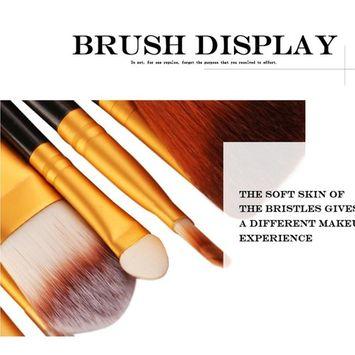 CYCTECH® 18 pcs Makeup Brush Set tools Make-up Toiletry Kit Wool Make Up Brush Tool