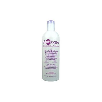 Aphogee Intensive Two Minute Keratin Reconstructor Restores Softness & Elasticity & Repairs Damaged Hair 16Oz/473Ml