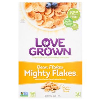 Love Grown Foods, Llc Love Grown, Cereal Mght Flakes Bean, 10 Oz (Pack Of 6)
