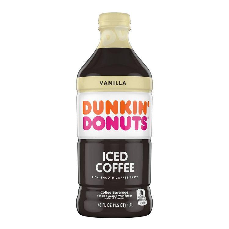 Dunkin' Donuts Vanilla Iced Coffee - 48 fl oz Reviews 2020