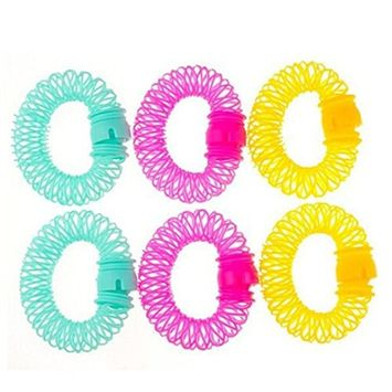 Bluelans® Magic Donuts Fast Hair Curler Hair Curly Magic Spiral Ringlets Former Hairstyle Maker Styling Tool DIY Salon Accessory