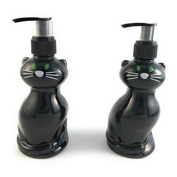 Halloween Black Cat Hand Soap - Taffy Apple Scented