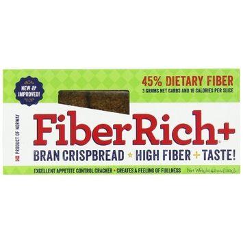 Fiber Rich Plus Crispbread, Original, 4.2 Ounce