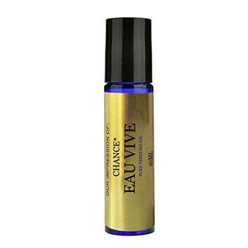 Perfume Studio IMPRESSION Parfum Oil SIMILAR toCH._CHANCE_EAU_VIVE Perfume(Women) - 100% Pure Undiluted, No Alcohol Top grade Perfume Oil (VERSION/TYPE Oil; Not Original Brand) (10ML ROLL ON)