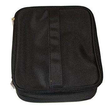 Bare Escentuals Black Zippered Train Case w/2 Removable Zip Bags