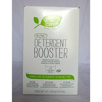 Legacy of Clean Tri-Zyme Concentrated Detergent Booster 5.93lbs (112+ Loads)
