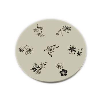 KONAD Nail Art Konad Stamping Nail Art Image Plate - M31