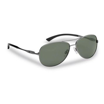 Flying Fisherman Madeira Polarized Sunglasses Gunmetal Frame with Smoke Lens