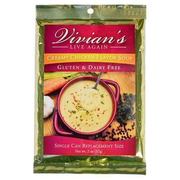 Gluten Free Cream of Chicken Soup & Gravy Mix- Dairy Free, Shelf Stable, Powdered Mix by Vivian's Live Again