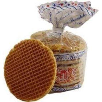 Stroopwafels - 20 Dutch Verweij 100% Butter Stroopwafels In Frustration Free Packaging [Frustration-Free Packaging]