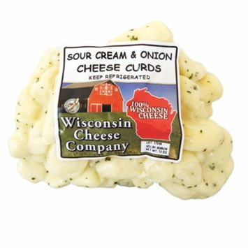 Wisconsin Cheese Company's Famous Sour Cream Cheese Curds 1.5lbs (2ct-12oz. packs)