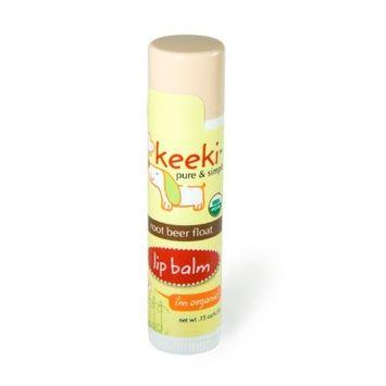 Keeki Pure & Simple Lip Balm, Root Beer Float, 0.15 Ounce