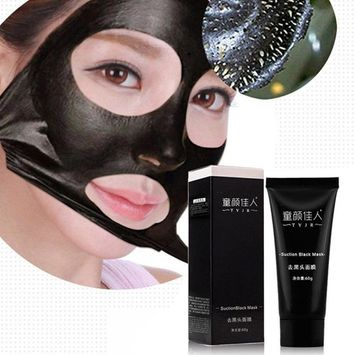 SMTSMT 2017 Black Mud Deep Cleansing Purifying Peel Off Facail Face Mask-Black