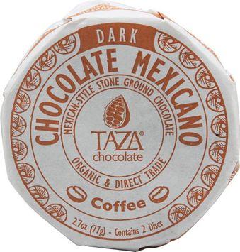 Taza Chocolate Organic Chocolate Mexicano Disc Coffee - 2.7 oz pack of 12