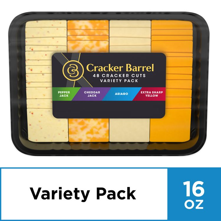 Cracker Barrel Cracker Cuts Variety Party Tray, 16 oz Package