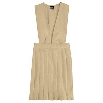FRENCH TOAST - French Toast Girls 4-20 School Uniform V-Neck Pleated Jumper