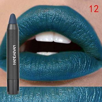 Hot Sales! DEESEE(TM) Waterproof Long Lasting Liquid Matte Lipstick Makeup Lip Gloss Lip