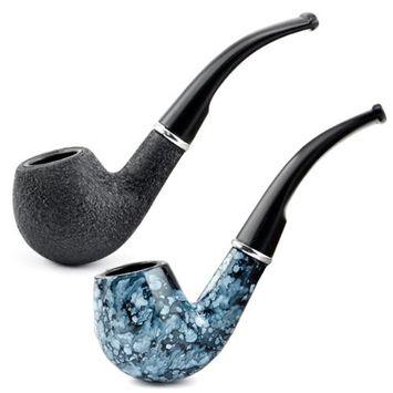 Black Tobacco smoking pipe