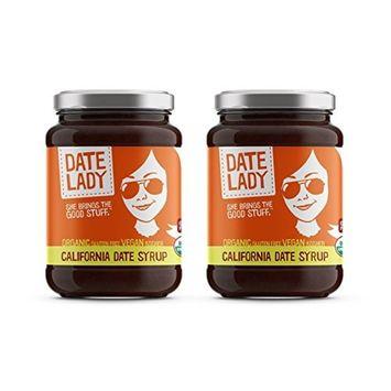 California Organic Date Syrup (12 oz glass, 2 jars)