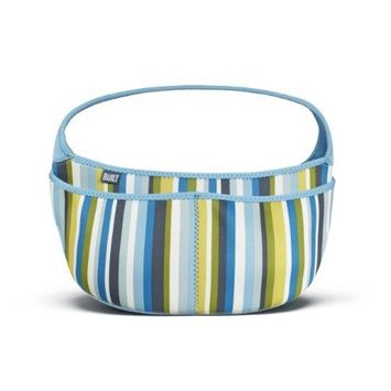 Built Baby Buddy Essentials Caddy, In Baby Blue Stripe