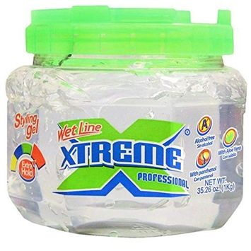 Wet Line Xtreme Clear Professional Styling Gel by Wetline