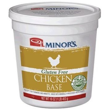 Minor's Gluten Free Chicken Base (All Natural) - 16 oz. by Minor's