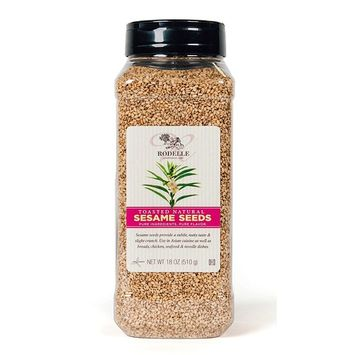 Rodelle Toasted Natural Sesame Seeds, 18 Ounce