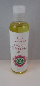 Facial Cleansing Oil Rosy Resolution By Trillium