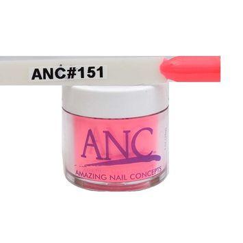 ANC Dipping Powder 1 oz #151 Neon Pink Orange
