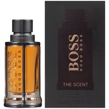 Elizabeth Arden Hugo Boss The Scent Fragrance Eau de Toilette Spray for Men, 1.6 fl oz