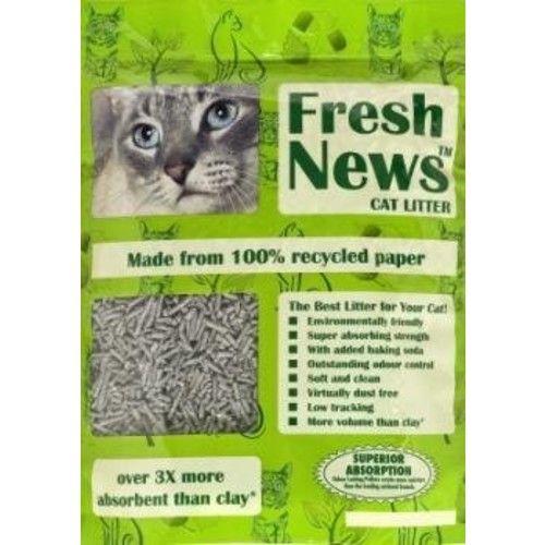 FRESH NEWS CAT LITTER 4 LB
