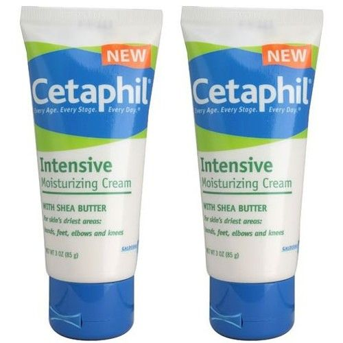 Cetaphil Intensive Moisturizing Cream with Shea Butter, 3 ...