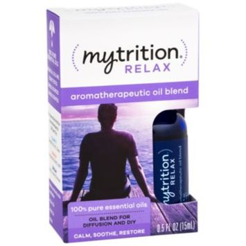 Aromatherapeutic Oil Blend Relax (0.5 Fluid Ounces Oil) by MyTrition at the Vitamin Shoppe