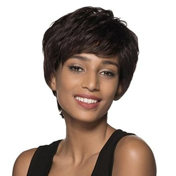 OVERMAL News Natural Short Wigs for Women Human Hair Wig Short Hair Wig