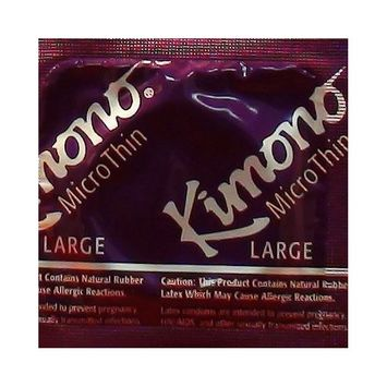 Kimono MicroThin Large: 36-Pack of Condoms