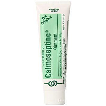 Calmoseptine Ointment Tube 4 Oz (Pack of 2)