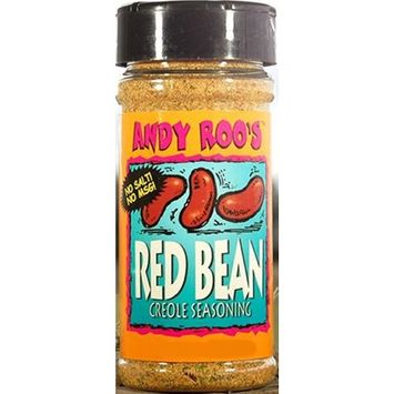Andy Roo's Salt-Free Red Bean Creole Seasoning, 4 Ounce Shaker
