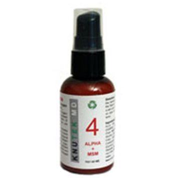 kNutek Alpha + MSM Face and Throat Cream, 1 oz (30 ml)