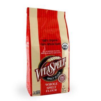 Nature's Legacy VitaSpelt Organic Whole Grain Spelt Flour 5lb bags (Case of six)